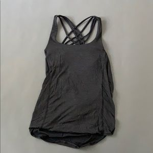 Lululemon built in energy bra tank size 6